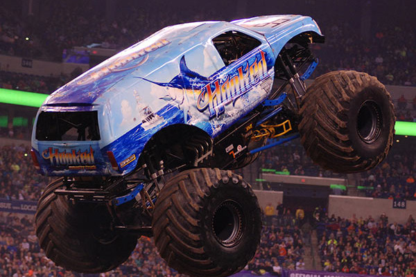 Hooked Going Huge in Indy | Round 4: Monster Jam Fox Sports 1 Championship Series